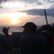 Un autre magnifique coucher de soleil sur Mayreau