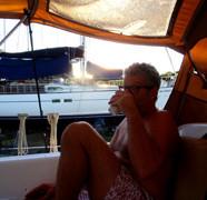 Premières journées à bord «on the hard»
